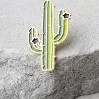 Zero Gravity Cactus Green Pin
