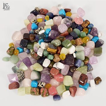 Tumbled Stones 228g Mixed Gemstone Rock and Minerals Crystal and natural Tumbled Stone for Chakra Healing fengshui decortion
