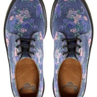 Dr Martens 1461 Floral 3 Eye Shoes at asos.com