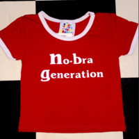 SWEET LORD O'MIGHTY! NO BRA GENERATION