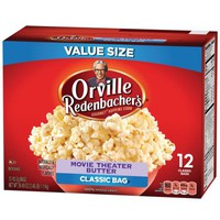 Orville Redenbacher's Movie Theater Butter Popcorn, 12 ct, 39.49 oz - Walmart.com