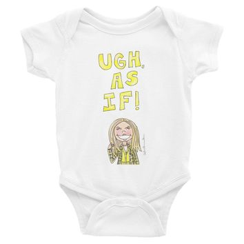 Clueless Quote Infant Bodysuit