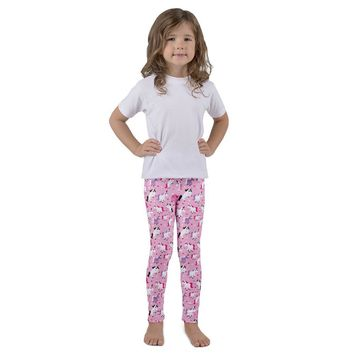 Obersee Kid's Unicorn Leggings