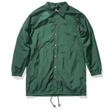 Undefeated 3rd Quarter Jacket In Green - Beauty Ticks