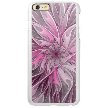 Fractal Pink Flower Dream, Floral Fantasy Pattern Incipio Feather® Shine iPhone 6 Plus Case