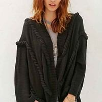 Ladakh Braided Cardigan Sweater-