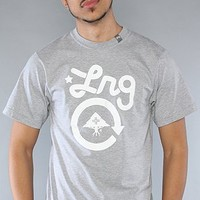 LRG Core Collection The Core Collection Ten Tee in Ash Heather,T-shirts for Men