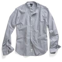 7th Ave Union Band Collar Shirt