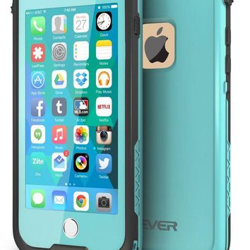 DCCKRQ5 CellEver iPhone 6 / 6s Case Waterproof Shockproof IP68 Certified SandProof SnowProof Full Body Protective Cover Fits Apple iPhone 6 and iPhone 6s (4.7') - Ocean Blue