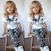 Toddler Girl Outfits 2 PCS