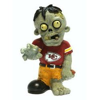 Kansas City Chiefs NFL Zombie Figurine