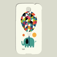 Fly High And Dream Big Galaxy case by AndyWestface on BoomBoomPrints