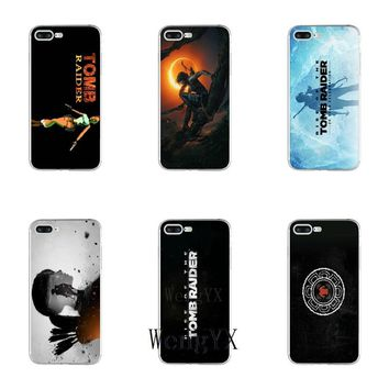 game Shadow of the Tomb Raider poster TPU Soft phone case For Sony xperia XA Z Z1 Z2 Z3 Z4 Z5 Premium Compact M2 M4 M5 E3 T3