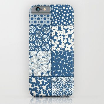 Tile Patchwork iPhone & iPod Case by Eileen Paulino