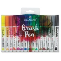 Royal Talens Ecoline Brush Pen Markers and Sets - BLICK art materials