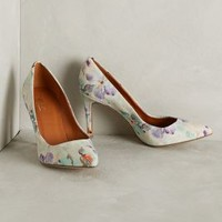 Miss Albright Latterly Canvas Pumps