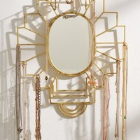 Plum & Bow Jewelry Organizer Mirror- Gold One