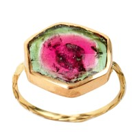 Catbird :: shop by category :: JEWELRY :: Watermelon Tourmaline Ambro Ring