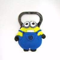 Two eyed Minion, Despicable me inspired bottle opener
