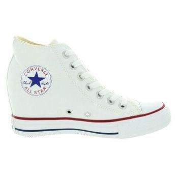 DCCKHD9 Converse All Star Chuck Taylor Lux - White Canvas High Top Sneaker