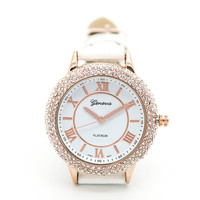 Bella crystal strap watch (3 colors)