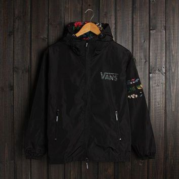 DCK4S2 Men VANS Jacket Winter Fashion Stylish Alphabet Hats Double-layered Windbreaker [103858044940]