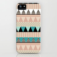 Cute Aztec Phone Case iPhone & iPod Case by PinkBerryPatterns