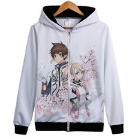 Tales of Zestiria The X hoody New hot Anime Tenzoku Sorey Edna hoodies coat Game White hoody Jacket Lovely Gift hoody
