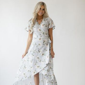 Lilly Floral Wrap Dress
