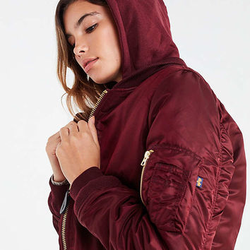 Alpha Industries MA-1 Natus Bomber Jacket | Urban Outfitters