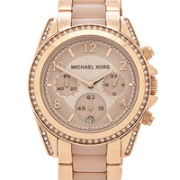 Michael Kors Blair in Metallic Gold