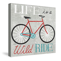 Vintage Desktop Bike Canvas Wall Art