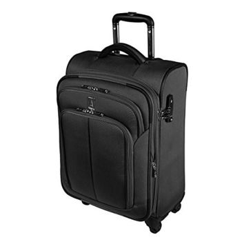 Travelpro Connoisseur Collection Expandable 20 Inch Spinner Luggage [Black]