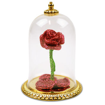 Disney Limited Edition Jeweled Beauty and the Beast Enchanted Rose by Arribas | Disney Store