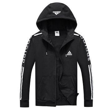 Trendsetter Adidas Women Men Fashion Casual Cardigan Jacket Coat
