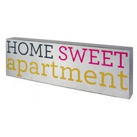 BlondeBirdie.com - Home Sweet Apartment Box Sign