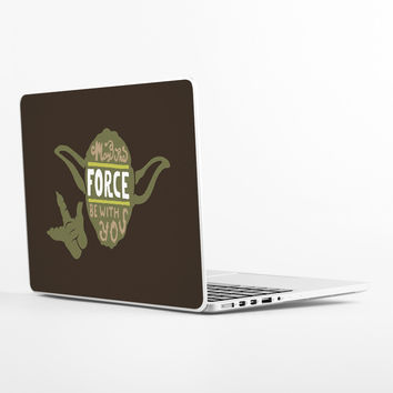 May the Force Laptop Skin