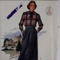 Butterick Pattern 6760 Misses Skirt and Shirt J G Hook Design Sizes 14 16 18