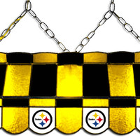 "Pittsburgh Steelers 40"" Box-Style Billiard Light"