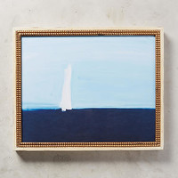 Sea Sailboat Wall Art