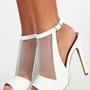 Want To Be Her Heels: White