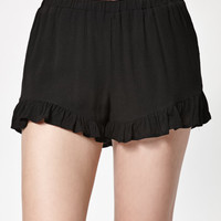 LA Hearts Ruffled Soft Shorts at PacSun.com