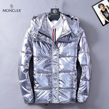 Moncler Fashion Casual Quilted Cardigan Jacket Coat Hoodie