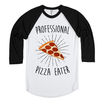 Professional Pizza Eater