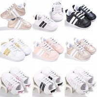 DIFFERENT COLOR BABY SHOES