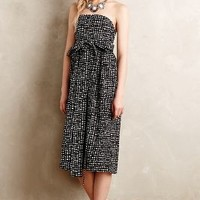 Tied Barcelona Dress by 4.collective Black Motif