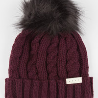Neff Penny Beanie Burgundy One Size For Women 26524032001