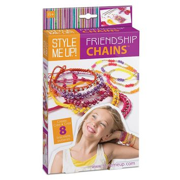 Style Me Up Friendship Chains Kit by Creativity for Kids (Hemp)