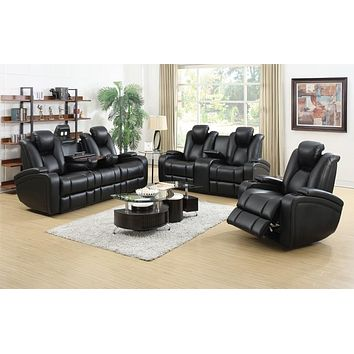 Delange Collection 3pc (Sofa, Loveseat, Recliner)