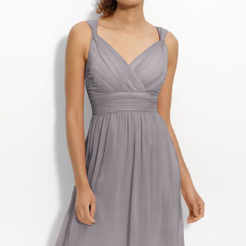 Donna Morgan Ruched Chiffon Dress | Nordstrom